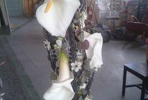 Dancing Flowers / Floristi, Jenni Laurion tekemiä hääkukkia.
