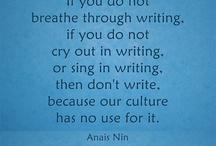writing something