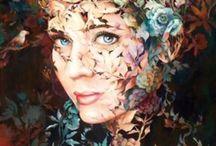 Pictura-Wendy Ng / Wendy Ng- abstract chinese painter