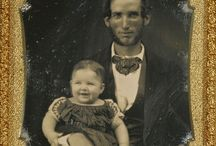 Daguerrotypes and old photographs