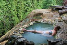 hot springs /termas al aire libre
