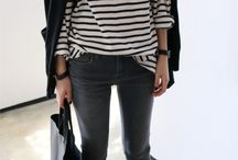 Weekend looks / Casual stripes