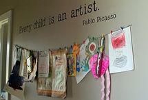 kids art / by Kellie Spicknell