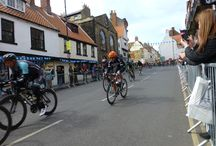 Tour De Yorkshire comes to Whitby! / We were very excited to watch the bikes whizzing past Church street last Friday, here are some photos of the event!