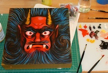 Obake Style's Paintings