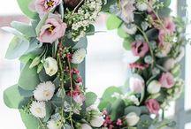 Wianki z kwiatów ^^