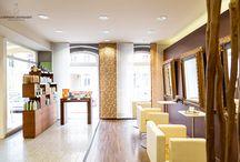 Haut & Haar Businessphotographie / Unternehmensfotografie im Bereich Kosmetik | Friseur | natürliche Pflege | extravagantes Interieur & Design