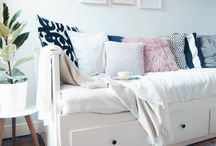 Bed-sofa Decor ideas