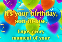 Birthday Cards for Son-in-Law