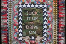 My Art Quilts / My art quilts. Mostly the current events inspired ones.