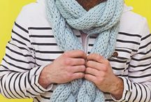 Knitted scarves & hats / My knitting books with patterns on how to knit beanies, bobble hats, scarves, cowls and animal hats