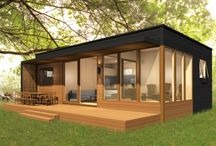 Eco home and studio. .