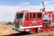 AB American Fire Deprt Trucks (01111) / USA Special FD Equipment.
