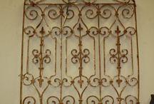 Iron decor wall