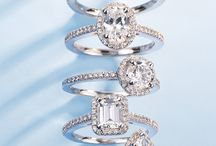 Engagement & Wedding Rings / Variety of engagement & wedding ring styles