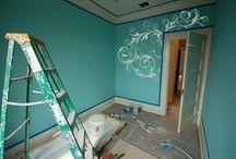 Maľovanie izby