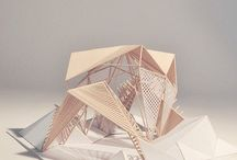 Architecture - models / by Bailey Brown