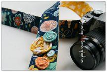 camera straps / by Melissa Rhodes