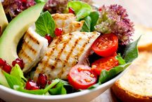 Healthy Salads / Here you can find good, original classic salads. Our salads look as good as they taste.