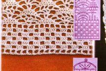 crochet - bordurye
