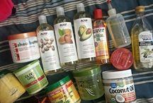 Natural hair produkts