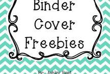 Binder Covers Freebies