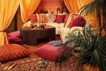 Planned Moroccan Outdoor Lounge