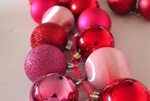 Pink and red Christmas