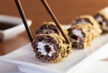 Sushi Dessert Rolls