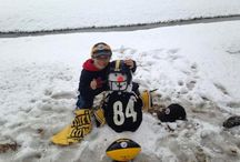 Steelers in the Snow / Walking in a Steelers wonderland / by Pittsburgh Steelers