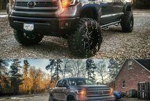 Lifted Toyota tundra