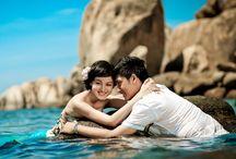 Biển xanh, nắng vàng và em! / Photo: Áo Cưới Kim Tuyến Địa chỉ: 80A- Hồ Văn Huê- P9- Q.Phú Nhuận- TPHCM Điện thoại: 0918.63.63.65 Website: www.aocuoikimtuyen.vn