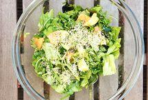 Salate / Rezepte für verschiedene Salate, natürlich vegan