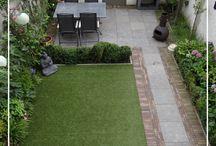 Patio: terrazas, quinchos y Jardines