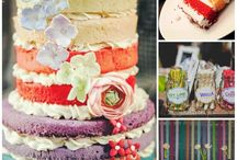 {Multi Colored Wedding} / Why pick just one color?  / by I Heart My Groom