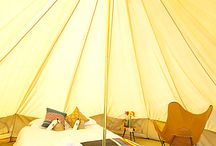 """Glamping / Cambria Winery hosted a small glamorous camping """"glamping"""" trip in Santa Maria, CA."""