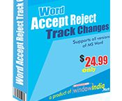 Word Accept Reject Track Changes
