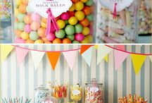 Candy Buffet Ideas / by Jasmine Low