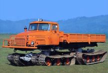 ural5920 / russian 4tracks vehicle  URAL / EZSM / NAMI0153