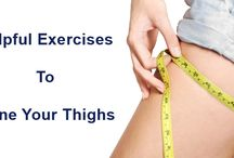 Helpful Exercises To Tone Your Thighs / If you really frustrated by your thigh heavy weight and want to get rid from this situation than don't worry we are happy to help you we provide you useful and helpful tips. visit website to see