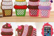 Colección Cherry Ice-Cream Cone - FundasiPhoneBaratas.com