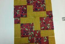 Meus projetos / Faço aula de patchwork toda terça então segue alguns projetos que farei no decorrer do curso.