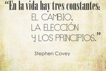 Stephen Covey...