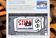 STEAM LESSONS / Lessons that include: science, technology, engineering, art, and math.