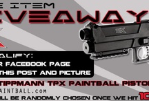 Paintball Promotions & Givaways