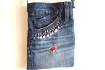 Taske af cowboy bukser