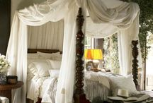 Bedrooms / A place for peaceful sleep and happy dreams / by Wanda Lakey