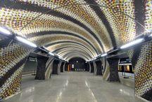 Public transport in Budapest / bus, metro, tram, trolleybus, funicular, suburban railway
