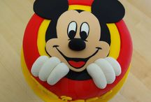 Mickey en Minnie taart en tutorials