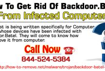 How to get rid of Backdoor.Batel from infected Computer?